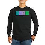 Genius Long Sleeve Dark T-Shirt