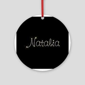 Natalia Spark Ornament (Round)