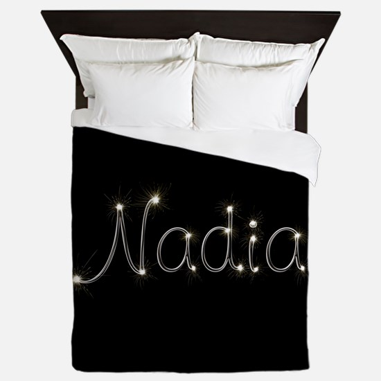 Nadia Spark Queen Duvet