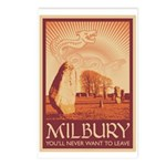 Milbury Postcards (Package of 8)