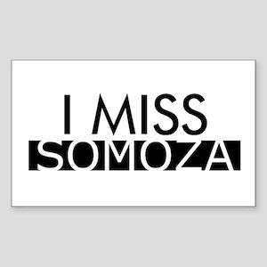 Somoza Rectangle Sticker