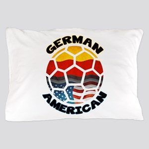 German American Football Soccer Pillow Case