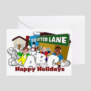 Letter Lane Greeting Cards (Pk of 10)