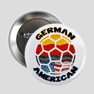 "German American Football Soccer 2.25"" Button"