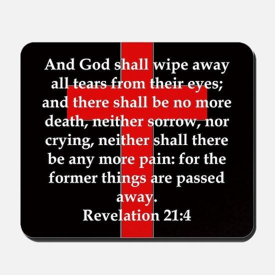 Revelation 21-4 Mousepad