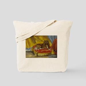 Ruby Cavalier King Charles Spaniel Tote Bag