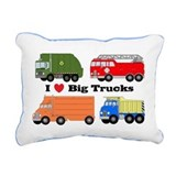 Keep on trucking Rectangle Canvas Pillows
