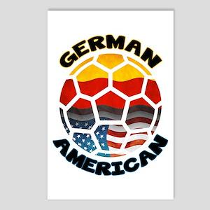 German American Football Soccer Postcards (Package