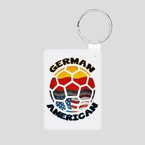 German American Football Soccer Aluminum Photo Key