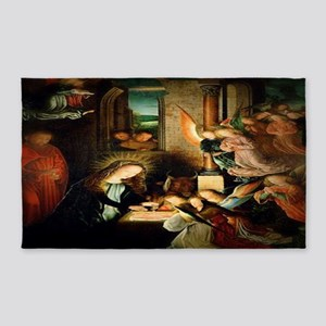 The Nativity 1495 3'x5' Area Rug