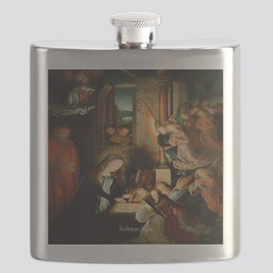 The Nativity 1495 Flask