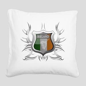 ireland Square Canvas Pillow