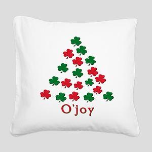 irish ojoy(blk) Square Canvas Pillow