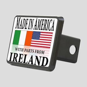 Irish American pride Rectangular Hitch Cover