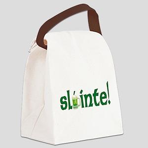 sla´inte T-Shirt Canvas Lunch Bag