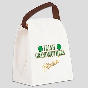 irish grandmother(white) Canvas Lunch Bag