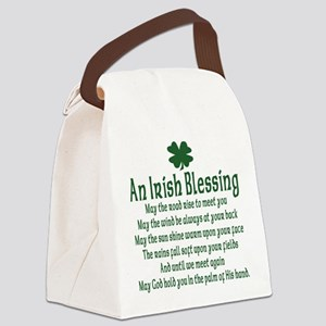 an old irish blessing Canvas Lunch Bag