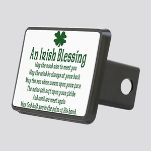 an old irish blessing Rectangular Hitch Cover