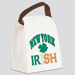New York irish Canvas Lunch Bag