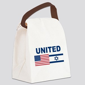Support Isreal Canvas Lunch Bag