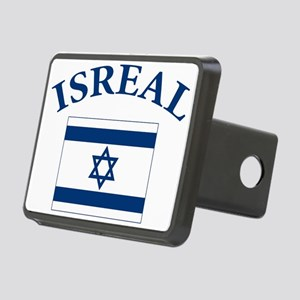 I love Isreal Rectangular Hitch Cover