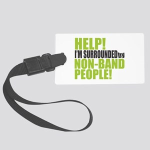 Non Band People Large Luggage Tag