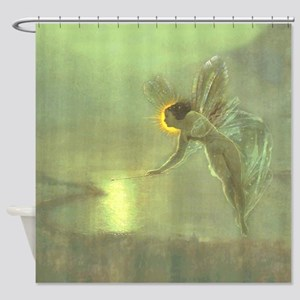 Grimshaw Spirit of the Night Shower Curtain