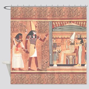 Ani Papyrus Egyptian Shower Curtain