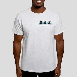Proud Scottie Parent Ash Grey T-Shirt