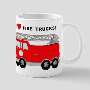 I Heart Fire Trucks! Mug