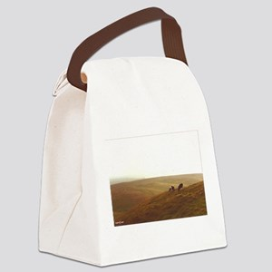Point Reyes dairy pasture Canvas Lunch Bag