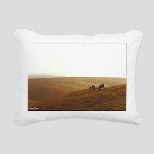Point Reyes dairy pasture Rectangular Canvas Pillo