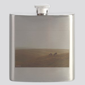Point Reyes dairy pasture Flask