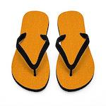 Rough Orange Look Flip Flops
