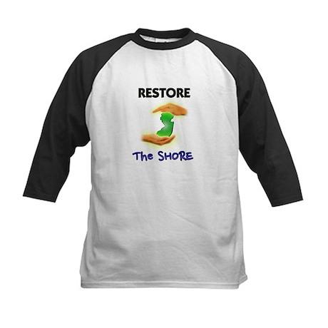 Hurricane Sandy Restore Jersey T-Shirt Kids Baseba