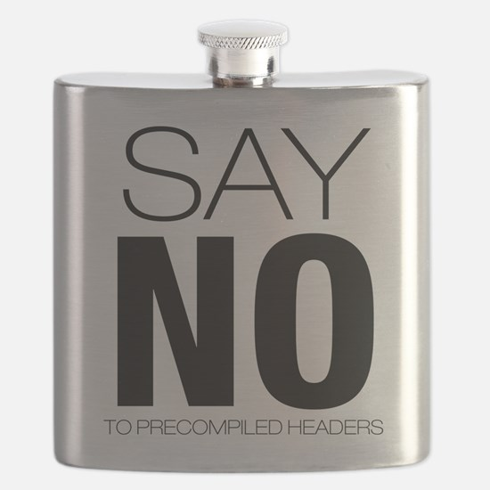 say no to precompiled headers.png Flask