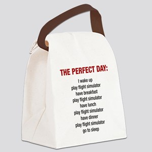 Perfect Day Canvas Lunch Bag