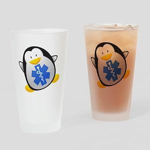 Penguin EMT Drinking Glass