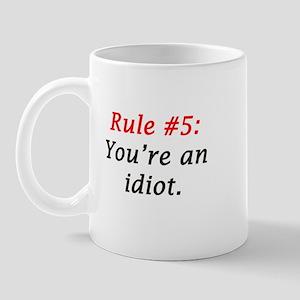 RuleNumber5 Mugs