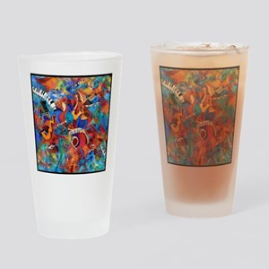 Jazz Musicians Blues Band Drinking Glass
