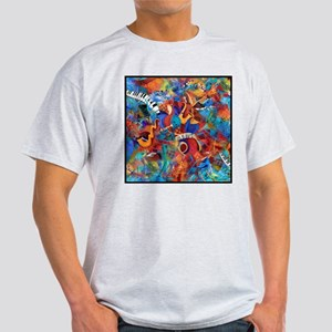 Jazz Musicians Blues Band Light T-Shirt