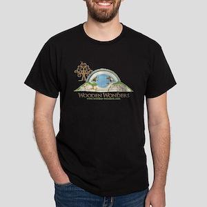 Woodshire Hobbit Hole Sketch Dark T-Shirt