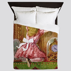Alice Through The Looking Glass Queen Duvet