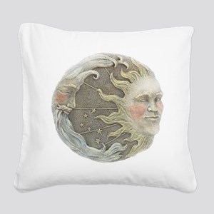 sunmoonplaque Square Canvas Pillow