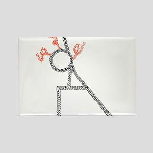 Side angle-ArtinJoy Rectangle Magnet