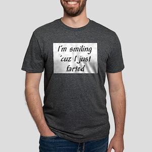 Im smiling because I just farted Mens Tri-blen