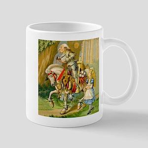 Alice Meets The White Knight Mug