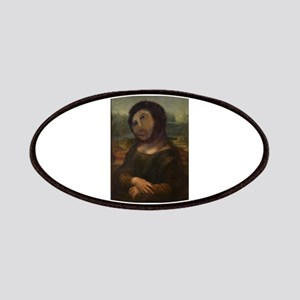 restored Mona Lisa Patches