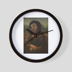 restored Mona Lisa Wall Clock