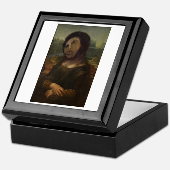 restored Mona Lisa Keepsake Box